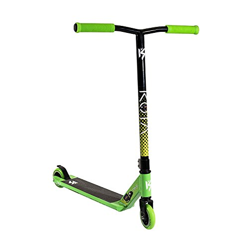 Stuntscooter/Tretroller von Kota Ninja Complete Pro, in verschiedenen Farben, Kinder, grün/schwarz, Deck: 495mm x 114mm - Bar: 540mm High x 500mm Wide