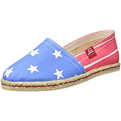 Miss Hamptons Stars and Stripes, Alpargatas para Mujer, Muticolor, 42 EU