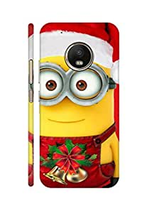 AMAN Merry Christ 3D Back cover for Moto G5 Plus