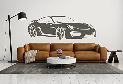 Schönes Wandtattoo Porsche Carrera 911