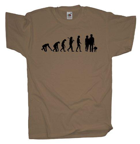 Ma2ca - Evolution - Gassi gehen T-Shirt Khaki