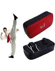 nalmatoionme 1pcs Karate Taekwondo Boxeo Kick Punch Pad escudo de piel sintética accesorios