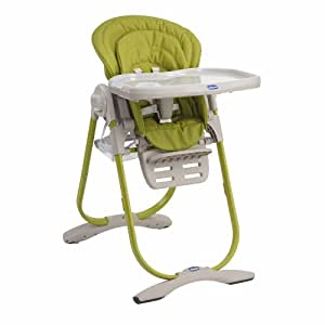 Chicco Polly Magic Highchair - Lime