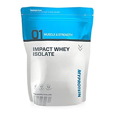 Myprotein Impact Whey Isolate - Multiple Flavours - Powder - Pouch - 1kg, 2.5kg, 5kg