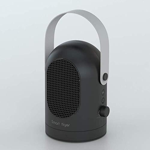 EXAB Hornos Electricos   PTC Oscilante Cerámica Ventilador Portátil 600W Personal Caliente Viento Natural Escritorio