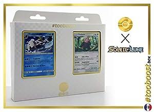 Crabominable 43/149 Y Chelours (Bewear) 112/149 - #tooboost X Soleil & Lune 1 - Box de 10 Cartas Pokémon Francés + 1 Goodie Pokémon