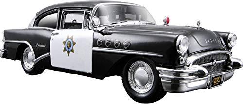 Tavitoys, 1/24 Special 1955 Buick TM Negro (31295BK), Color (Maisto 1)