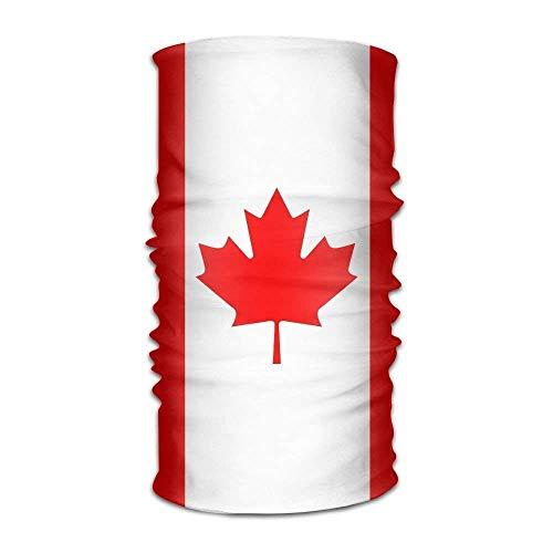 Canadian Flag Women Men Cute Headwear Bandanas - Multifunctional Headband Sports Magic Scarf For Outdoor Activity