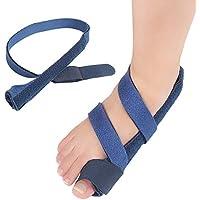 Healifty Zehenspreizer Bandage Hallux Valgus Big Toe Bunion Korrektor Zehenschutzer Fußpflege 2 Stück (Blau) preisvergleich bei billige-tabletten.eu