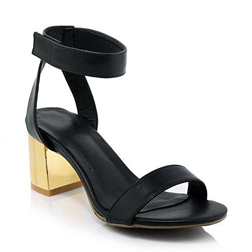 Adee , Sandales pour femme PU noir