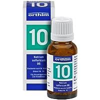 Schuessler Globuli Nr. 10 - Natrium sulfuricum D6 - 15g Globuli - gluten- und laktosefrei preisvergleich bei billige-tabletten.eu