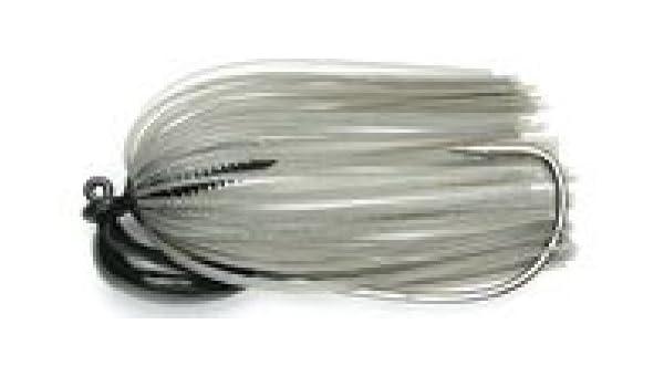KEITECH Rubber Jig Model 3 3//8 oz. Tungsten Gold Flash Minnow 10.5g
