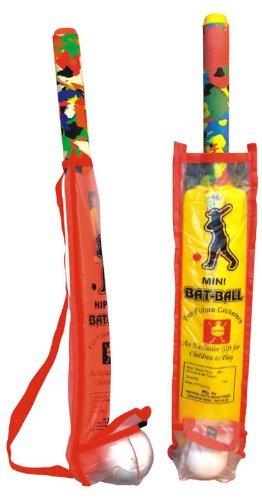 Nippon Bat Ball Mini Pouch Kids Toys Cricket
