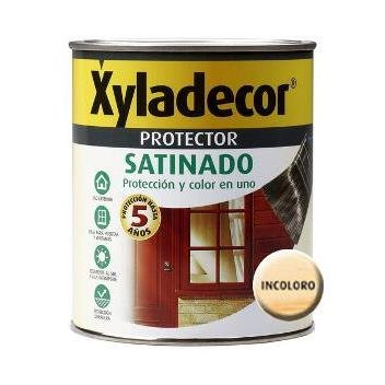 Xyladecor 5089298 - Protector satinado INCOLORO Xyladecor