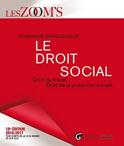 Le Droit social 2016-2017