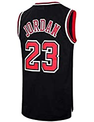 b24b1af3394 VICTOREM Mens NBA Michael Jordan #23 Chicago Bulls Basketball Jersey Retro  Gym Vest Sports Top