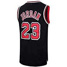00b43e026 VICTOREM NBA Michael Jordan  23 Camiseta de Baloncesto para Hombres Chicago  Bulls Retro Chaleco de