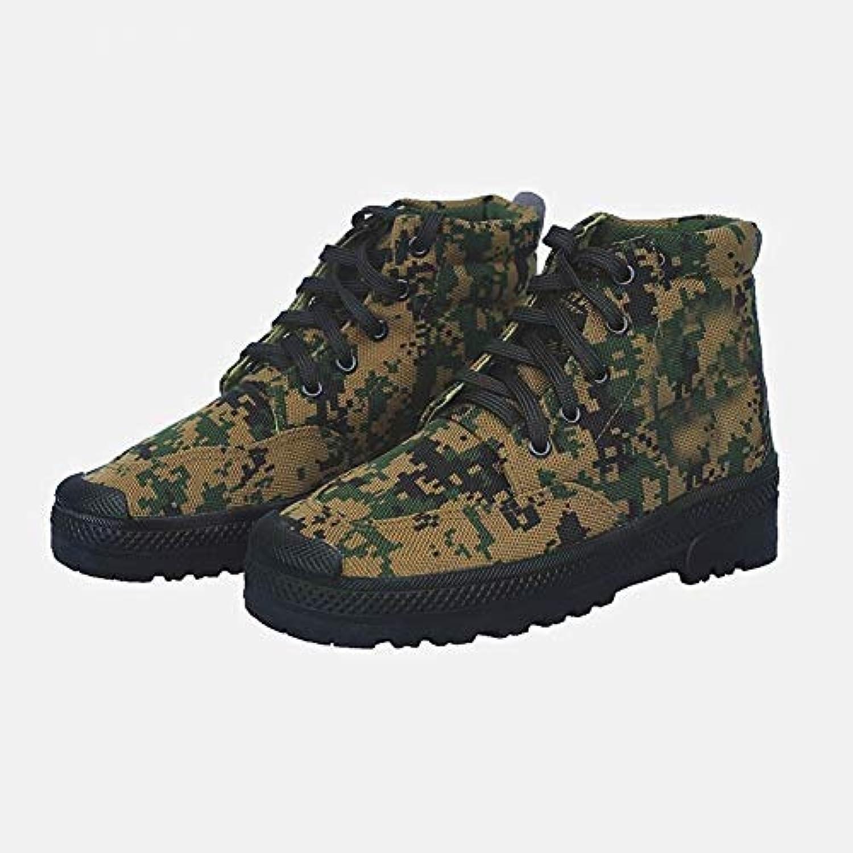 Rcnrycasual scarpe di tela camouflage, per allenamento, resistente all' usura e antiscivolo, alta Labor assicurazione... | Prezzo speciale  | Sig/Sig Ra Scarpa