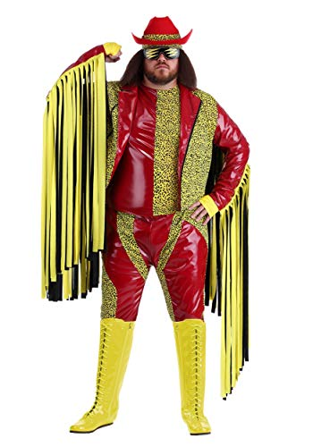 Macho Savage Randy Kostüm - Plus Size Macho Mann Randy Savage Kostüm - 4X