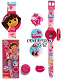 Dora The Explorer LCD Watch with Interchangeable Characters