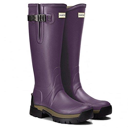 Hunter Balmoral 2 Adjustable Neoprene Ladies Wellingtons Dark Iris