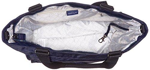 Kipling - New Shopper S, Borse Tote Donna Blu (Lacquer Indigo)