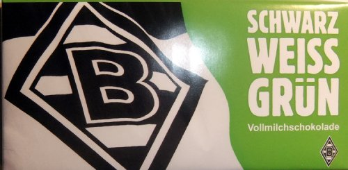 M Gladbach Borussia équipe Chocolat BMG