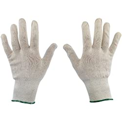 Lot de 6 paires de gants dermatologiques en coton pour eczéma et peau sèche Taille 8