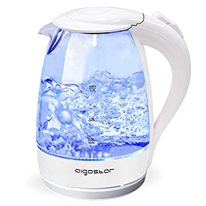 Aigostar-Eve-30GON-Glas-Wasserkocher-mit-LED-Beleuchtung-2200-Watt-17-Liter-kochtrocknender-Schutz-BPA-frei-wei-Exklusives-Design