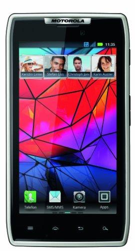 Motorola GmbH Motorola RAZR Smartphone (10,9 cm (4,3 Zoll) AMOLED Display, 8 Megapixel Kamera, Dual Core Prozessor, Android OS, Micro-SIM only) weiß