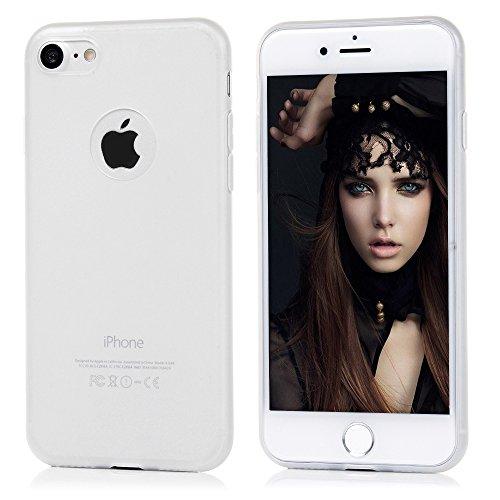 8x-Cover-iPhone-7-Silicone-Custodia-Morbido-TPU-Opaco-MAXFECO-Case-Antiscivolo-Satinato-Ultra-Sottile-Cassa-Protettiva-per-iPhone-7-47-Rosso-blu-blu-scuro-nero-bianco-trasparente-giallo-rosa-verde