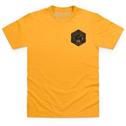 Evo Emblem T-Shirt, Herren Gelb