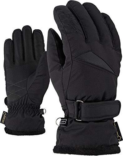 Ziener Damen KOFEL GTX lady glove Ski-handschuhe/Wintersport | Wasserdicht, Atmungsaktiv, , schwarz (black), 8.5
