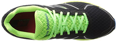 New Balance M980 D V2, Chaussures de running homme Noir - Negro/Verde