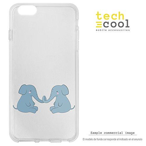 Funnytech® Funda Silicona para Xiaomi Redmi Note 4 [Carcasa Flexible Resistencia y...