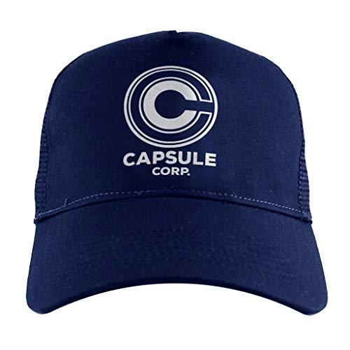 Cloud City 7 Capsule Corp Dragon Ball Z, Trucker Cap