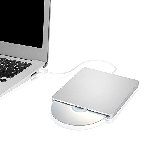 [Upgrated Version]Blingco Slot externe dans CD-RW DVD-RW Drive Ultra Slim Player Burner Writer pour Apple Mac Book Air Pro iMAC