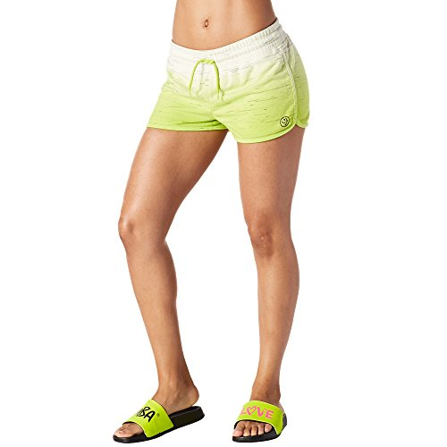 Shorts Terry Fitness Sun When Goes Zumba The Down FrauenhosenGreenXl Damen French f6Y7gbvy