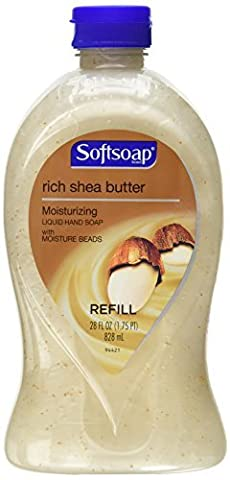 Softsoap Moisturizing Hand Soap Refill Rich Shea Butter 28 oz (1.75 PT) by Softsoap