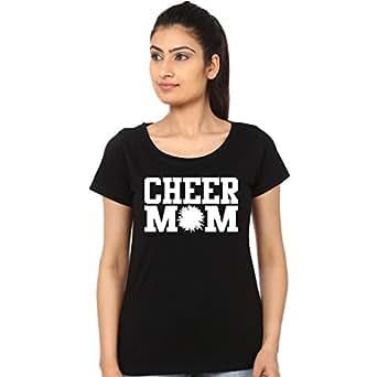 Mopixie Cheer Mom Printed Tshirt (Size:2XL)