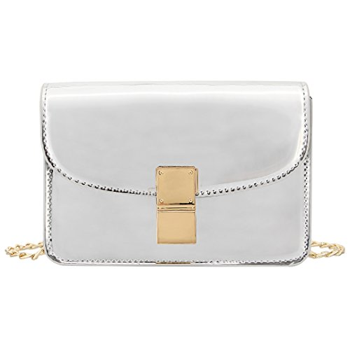 Novias Boutique, Poschette giorno donna argento Silver Silver