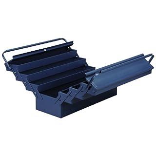 Allit 490613 Metall-Werkzeugkasten blau