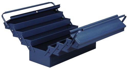 Allit 490613 Metall-Werkzeugkasten, blau