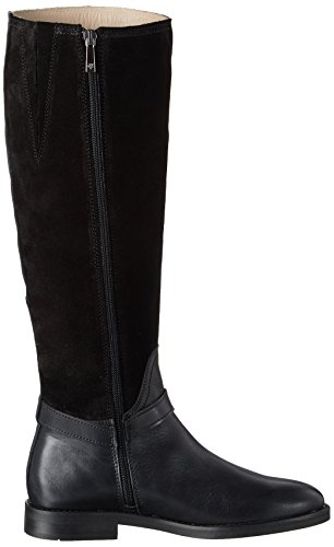 Heel Long Flat 70814228002311 Noir Boot Marc Bottes OPolo Black Femme Cavalieres 1qT7xUaPw