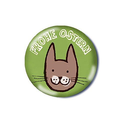 Familie kleiner Tiere Button Ostern Osterhase Kinderbutton Anstecknadel