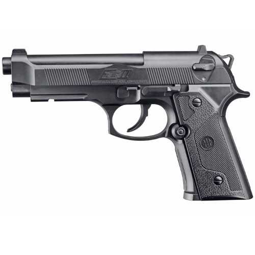 PISTOLA SEMIAUTOMATICA PERDIGON BERETTA 92 ELITE II  CALIBRE 4 5MM  3 3 JULIOS  CO2