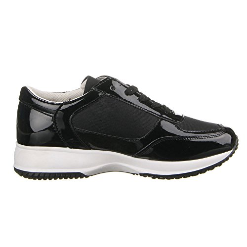 Femme 22–148 à chaussures de loisir Noir - Noir