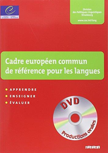 Cadre européen commun de référence pour les langues : apprendre, enseigner, évaluer (1DVD)