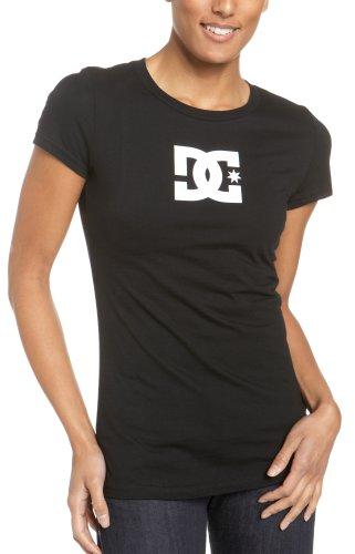 DC Star T-shirt pour femme femme SS Women's S/S Fine Jersey, bajabl/WHT Noir - noir