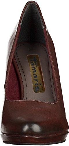 Tamaris  22448, Chaussures à talons - Avant du pieds couvert femmes Bordeaux